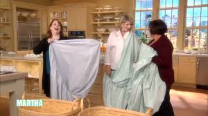 Folding Bed Sheets How To Fold A Fitted Sheet Martha Stewart