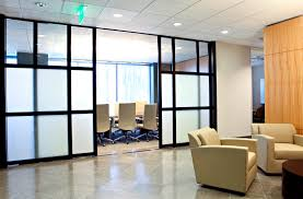 Sliding Barn Door Room Divider by Office Partition Walls Glass Office Cubicles Enclosures
