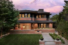 Frank Lloyd Wright Inspired Home With Lush Landscaping | frank lloyd wright inspired home with lush landscaping 2015 fresh