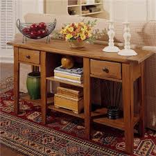 Sofa Table With Drawers Broyhill Furniture Attic Heirlooms Rectangular Sofa Table With 2