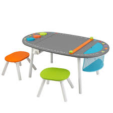 table with 2 stools chalkboard art table with stools for childrens playrooms in s a