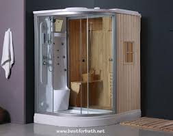 steam shower enclosure with traditional sauna b001 display sale