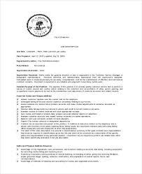 Job Description Cashier Resume by 11 Cashier Job Description Templates U2013 Free Sample Example