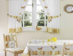 red kitchen curtain sets small wooden table furniture white wooden