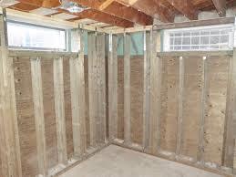 backyard ideas for finishing basement walls wall system