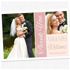 thank you cards wedding personalized thank you cards wedding free sle personalised