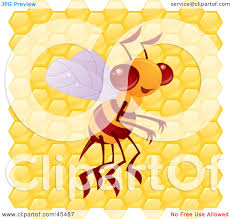 royalty free rf bumble bee clipart illustrations vector