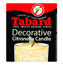 TABARD Citronella Candle Glass Lowest Prices & Specials line