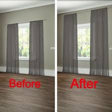 How To Decorate A Home Office On A Budget Best 25 Hanging Curtains Ideas On Pinterest Window Coverings