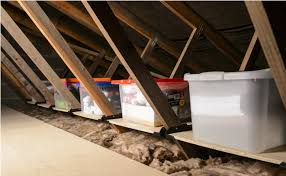 9 tricks to turn an unfinished attic into a practical storage