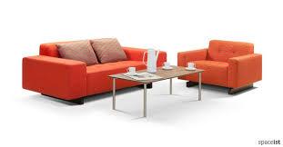 reception sofas office sofas long sofas match a brand colour