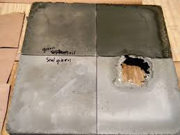 creating concrete countertops the great concrete sealer showdown creating concrete countertops
