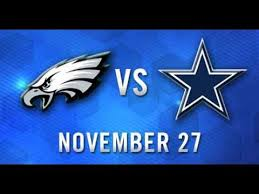 philadelphia eagles vs dallas cowboys thanksgiving up