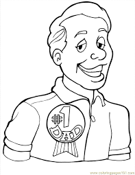 number 1 dad coloring free numbers coloring pages