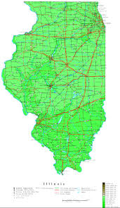 Illinois Road Map by Illinois Map Online Maps Of Illinois State