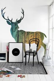 16 best wall ideas images on pinterest wall ideas architecture beautiful deer wall mural love this