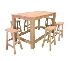 Patio Bar Height Table And Chairs by Bar Stools Bar Table And Stools 5 Piece Counter Height Dining