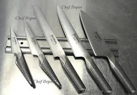 Professional Kitchen Knives by Global 7 Piece Professional Chefs Knife Set Global Chefs Starter