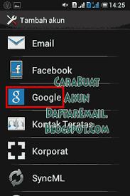 buat akun google facebook cara membuat akun google email gmail daftar play store