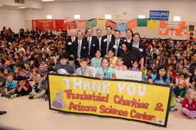thunderbirds charities awards 100 000 grant to arizona science