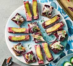 canape recipes canapé recipes food