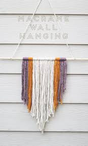 Macrame Home Decor by 15 And Under Hanging Macrame Art Pieces From Etsy The Accent