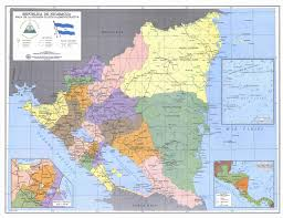 Political Map Of Central America by Maps Of Nicaragua Map Library Maps Of The World