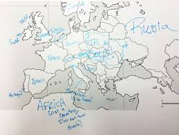 World Map Of Continents And Oceans To Label by This Is What Happens When Americans Are Asked To Label Europe And