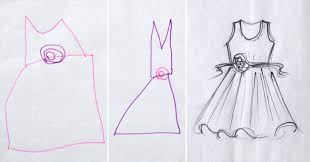 dress pattern 5 year old diy pattern for a dream dress designed by my 5 year old niece
