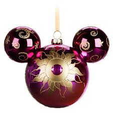 your wdw store disney mickey ears ornament rapunzel