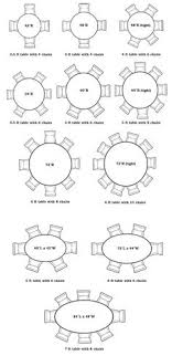 Best Dining Room Table Size Pictures Room Design Ideas - Round dining table size for 8