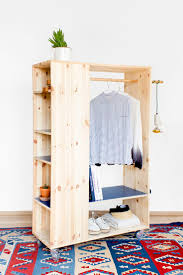 Wardrobe Cabinet With Shelves Best 25 Diy Wardrobe Ideas On Pinterest Diy Closet System