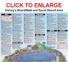 Orlando Area Map by Disney Boardwalk Map My Blog