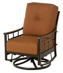 Hanamint Outdoor Furniture Reviews by Hanamint Stratford Club Swivel Glider All Things Barbecue