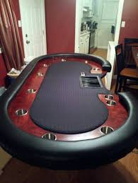 how to make a poker table side table 8 sided poker table custom tables by plans 8 sided