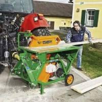 Firewood Saw Bench Log Saws For High Precision Cutting Posch Leibnitz