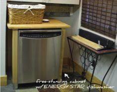 Free Standing Cabinets For Kitchen Dishwasher Cabinet From Ikea 169 Bakery Pinterest