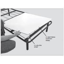 foldable platform bed folding metal platform bed frame bed base with storage space