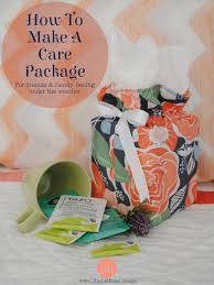 care package for sick make a flu kit a care package tutorial