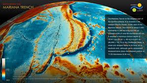 Ocean Depth Map Exploring The Mariana Trench Schmidt Ocean Institute
