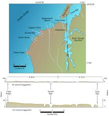 Map Of Coos Bay Oregon by Living With Earthquakes In The Pacific Northwest