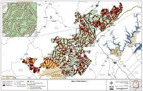 Tennessee Highway Map by Tennessee Lands Unsuitable For Mining