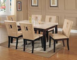 marble effect dining table and chairs with design hd pictures 6642