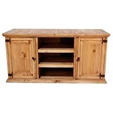 Rustic Tv Console Table Rustic Tv Stand Real Wood Western 60 Flat Screen