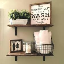 Bathroom Wall Decoration Ideas Ideas For Decorating Bathroom Shelves Parkapp Info