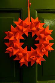 origami german star christmas wreath rachel kiernan