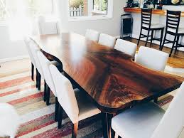 from coffee table to dining table natural live edge wood dining tables serving the greater seattle