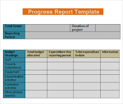 it progress report template report template 30 free documents in pdf word excel