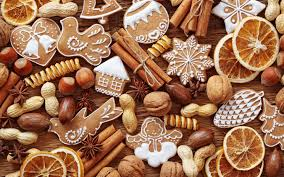 Christmas Nuts 1920x1200 Food Cinnamon Cookies Christmas Fruit Nuts
