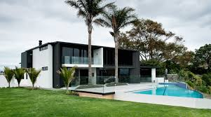 Contemporary Home Beautiful Contemporary Home In New Zealand Ultralinx